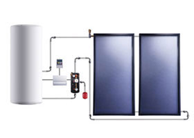 flat Solar Water heating images 3
